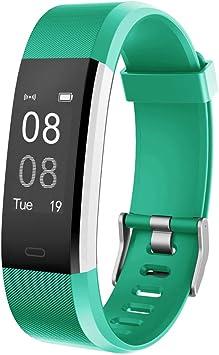 Oferta amazon: YAMAY Pulsera Actividad con Pulsómetro Mujer Hombre, Monitor de Actividad Deportiva, Ritmo Cardíaco, Impermeable IP67, Reloj Fitness, smartwatch con Podómetro