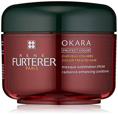 Rene Furterer OKARA Radiance Enhancing Conditioner, Safe for Color-Treated Hair, 6.7 oz.