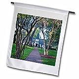 3dRose fl_143881_1  Usa, Georgia, St. Simmons Island, Christ Church - Rob Tilley  Garden Flag, 12 x 18