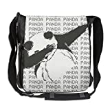 NYYSBU Crossbody Messenger Bag Dab Panda Hip Hop Shoulder Tote Sling Postman Bags One Size