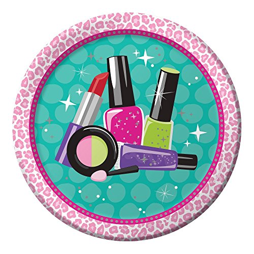 Makeup Spa Birthday Party Supply Pack Bundle For 8 Guests by Creative Converting (Image #1)