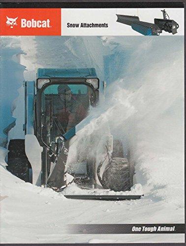 2009 Bobcat Snow Attachments brochure ()