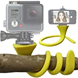 Original Banana Pod - Flexible Tripod Mount, Bendy Tripod, Twisty Tripod & Selfie Stick for iPhone, Samsung, SJ4000, Sony Actioncam, GoPro, Action Cam - Mounts to Any Surface - By Everlong Gadgets