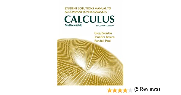 Rogawski multivariable calculus 2nd edition solutions fandeluxe Gallery