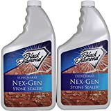 Black Diamond Nex-Gen Natural Stone Penetrating Sealer: Seals & Protects; Granite, Marble, Travertine, Limestone, Concrete, Grout, Tile, Brick, Block & Slate Floors, Patios and Fireplaces. 2-Quarts