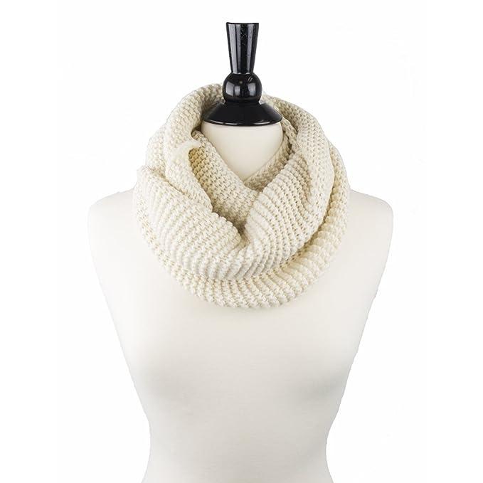 Pop Fashion Scarfs For Women Warm Knit Infinity Scarf Chunky Circle Scarf Fashion Scarves