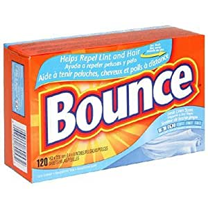 Bounce Fabric Softener Sheets, Fresh Linen Scent, 120-Count Boxes (Pack of 3)