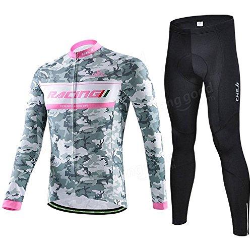 Bazaar Sportifs vélo vélo costumes vêtements de cyclisme maillot à manches longues vêtements camo