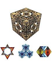 GeoBender GBC-NAUT-1ER Nautilus-Het Complex Magnetische, 3D, puzzel voor kinderen en volwassenen, transformatieve Infinity Cube