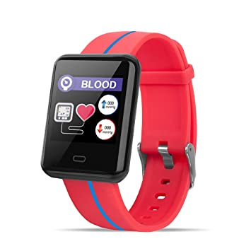 Amazon.com: Reloj inteligente con pantalla táctil, Bluetooth ...