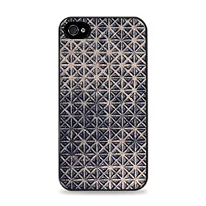 Triangle Texture Pattern Black Designer Protective Case Cover for Apple iPhone 5 / 5S