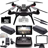 3DR Solo Quadcopter (No Gimbal) with Manufacturer Accessories + Extra 3DR Flight Battery + 3DR Propeller Set + SanDisk 32GB Extreme PRO microSDHC Memory Card (SDSDQXP-032G-A46A) + Microfiber Cleaning Cloth