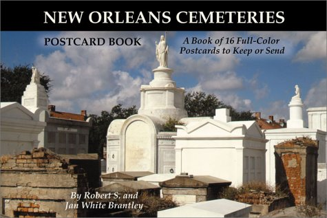Cemetery Postcard - New Orleans Cemeteries Postcard Book