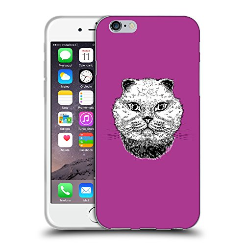 GoGoMobile Coque de Protection TPU Silicone Case pour // Q05220621 gros chat byzantin // Apple iPhone 7