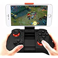 MOCUTE 050 Wireless Game Controller Gamepad Bluetooth Joysticks Gaming Controller with Mobile Phone Holder for Android Smartphone TV Box