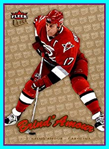 2006-07 Ultra GOLD Medallion #41 Rod Brind`Amour CAROLINA HURRICANES