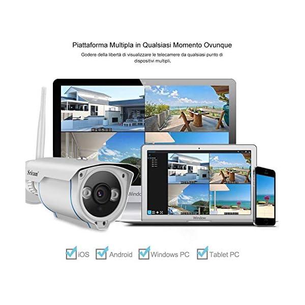 Telecamera Wifi Esterno (1080P) 3 spesavip