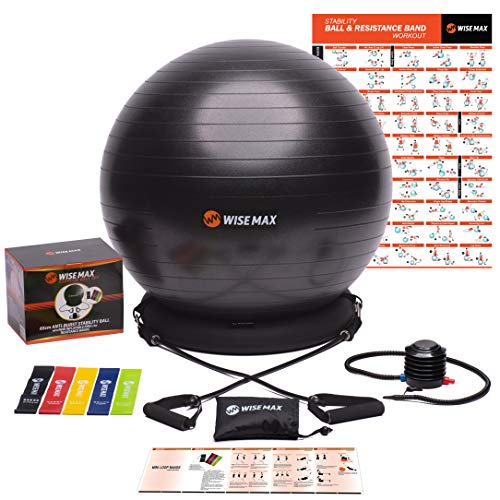 WISEMAX Exercise Ball Chair Inflatable product image