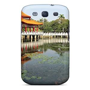 Series Skin Case Cover For Galaxy S3(lotus Lake)