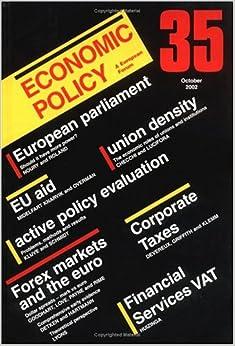 Book Economic Policy: No. 35
