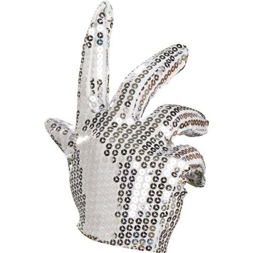 [Michael Jackson Sequin Glove] (Mj Thriller Halloween Costume)