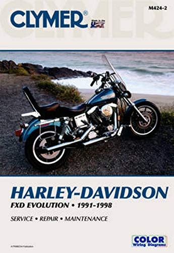 Clymer Harley Davidson FXD Evolution  Motorcycle