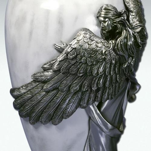Angelstar Angel's Embrace Pewter Urn, 5-Inch, 8 Cubic Inch (45420) by Angel Star (Image #3)