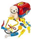 MMP Living Pet Care Play Set - Vet Kit and Grooming Kit - 12pcs