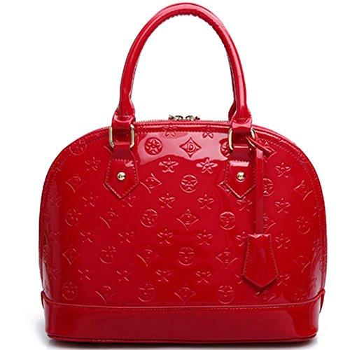 Tracolla Colore Casuale Puro A Donna Rosso Medio Borse Sacchetto Elegante Keral Pelle In Pu Di wRZPqwY