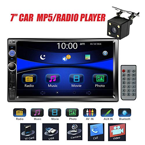 Regetek Car Stereo Double Din 7