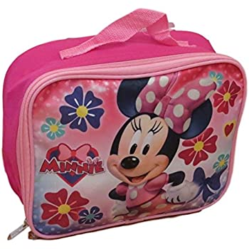 Amazon Com Disney Minnie Mouse Insulated Lunch Box