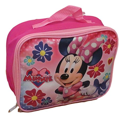 Minnie Mouse Lunch Box - Disney Minnie Mouse Insulated Lunch Box - Lunch Bag