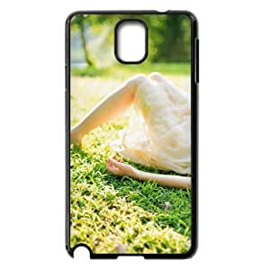Samsung Galaxy Note 3 Case, Girl Lying On The Grass Case for Samsung Galaxy Note 3 Black lmn317565803