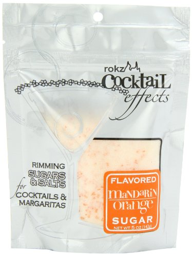 - Rokz Design Group Cocktail Sugar,  Mandarin Orange, 5 Ounce