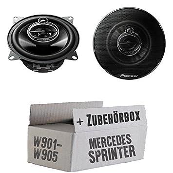 Mercedes SPRINTER - Pioneer TS-g1033i frente - 10 cm 3-en - juego de altavoces coaxiales: Amazon.es: Electrónica