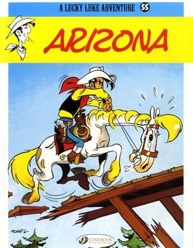 Lucky Luke - tome 55 Arizona (55) (Anglais) Broché – 5 novembre 2015 Morris Cinebook 184918268X Action et aventures