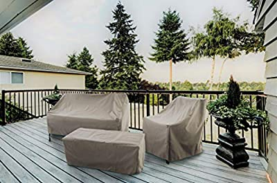 Modern Leisure Allen Patio Protectors Patio Chaise Lounge Cover