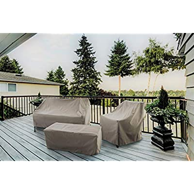 Modern Leisure 7648A Patio Chaise Lounge Chair Cover : Patio Chaise Lounge Covers : Garden & Outdoor