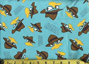 Amazon Com Flannel Fabric By The Yard Where S Perry