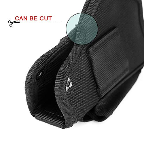 NO LOGO X-Baofu Jagdartikel Leder Pistolenhalfter for Verdeckte Tragepistole Airsoft Waffentasche for S /& W M /& P Shield Alle /Ähnliche Gr/ö/ße Pistolen Schwarz