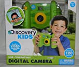 Discovery Kids Green Digital Camera (Ages 3+) (Also a Video Camera & USB Compatible) (Stores 120 Photos)