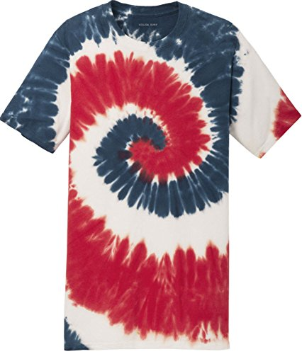 - Koloa Surf (tm) Youth Colorful Tie-Dye T-Shirt,S-USA