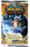 World of Warcraft TCG WoW Trading Card Game Heroes of Azeroth 1st Edition Booster Pack