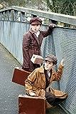 1940's-WW2-Wartime TAN EVACUEE BOY