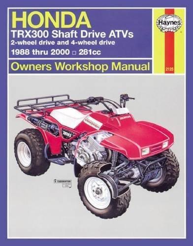 Honda TRX300 Shaft Drive ATV, 1988-2000 (Haynes Repair Manuals)