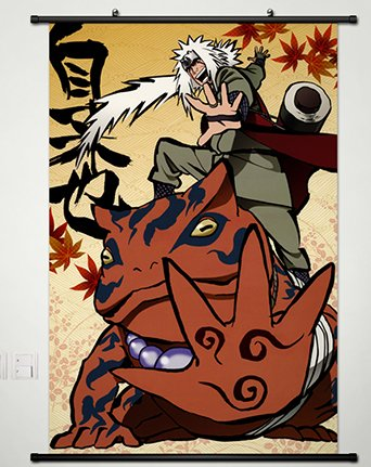 Wall Scroll Poster Fabric Painting For Anime Naruto Jiraiya