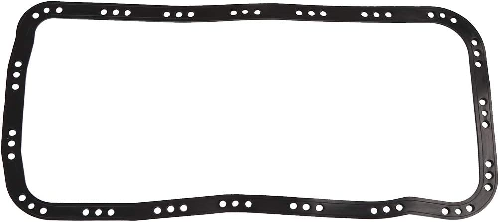 X AUTOHAUX Black Rubber Engine Oil Pan Gasket Replacement for Honda 11251-P30-004