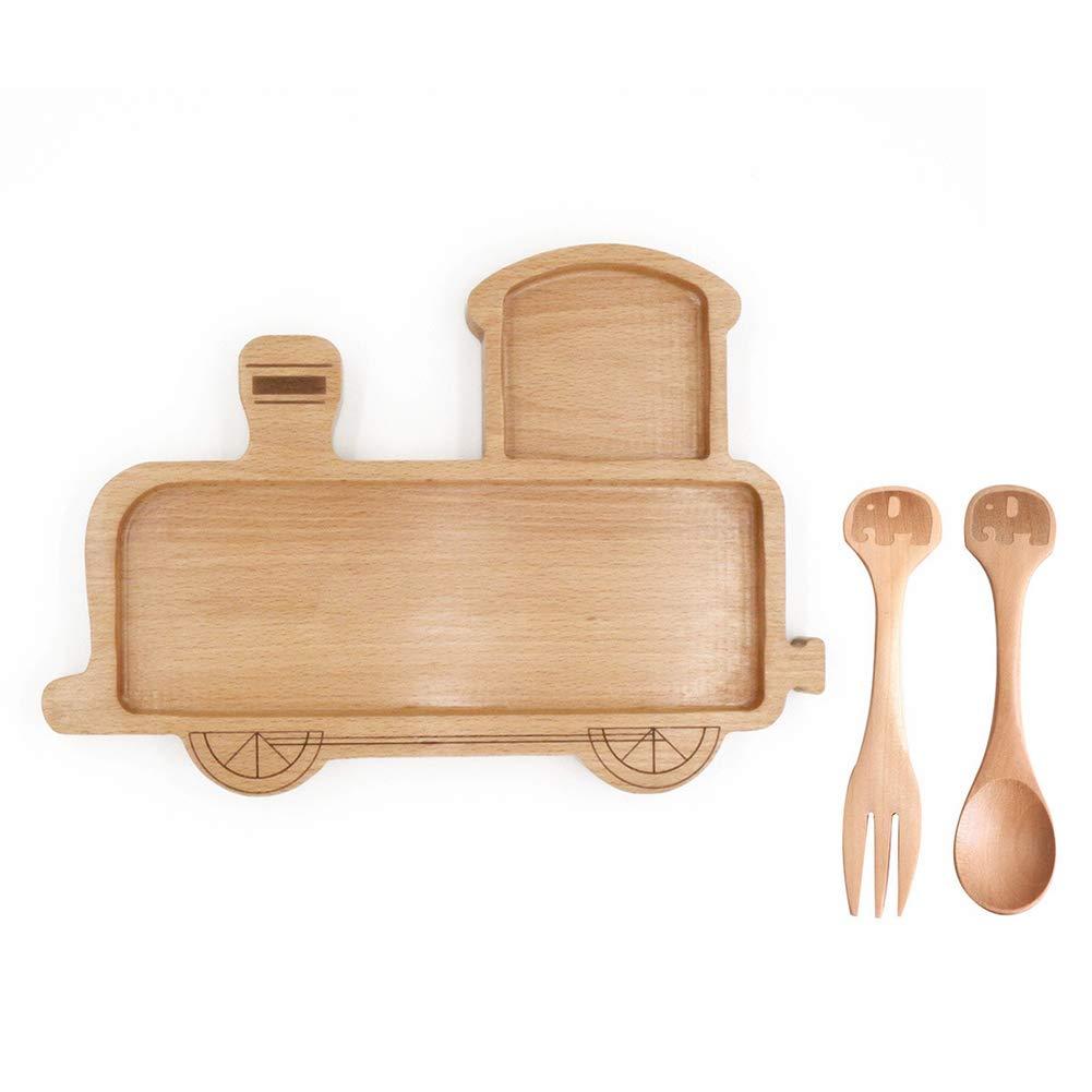 Platos de madera en forma de aperitivo para niños, Snack ...