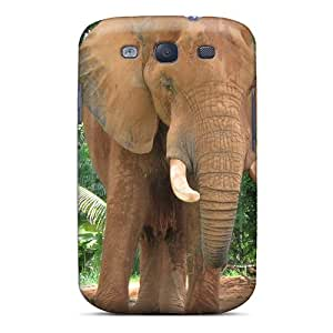 For Galaxy S3 Protector Case African Elephant Phone Cover