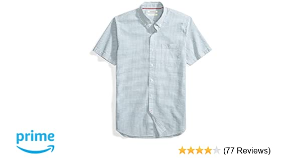5848934a101 Amazon Brand - Goodthreads Men's Slim-Fit Short-Sleeve Seersucker Shirt